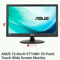 ASUS 15.6inch 10-Point Touch Wide Screen Monitor,  1292 mi