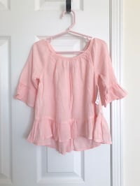 Old Navy toddler girl's pink peplum top size 3T- New with tags Mississauga, L5M 0C5