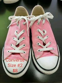 pair of pink Converse All Star low-top sneakers Laredo, 78041