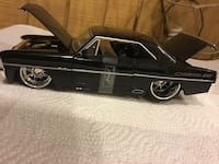 black Chevrolet coupe die-cast