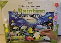 CRAFT Paint by Numbers Seascape (age 8+) Murrells Inlet