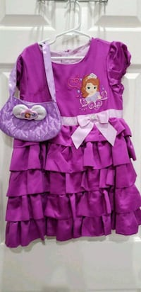 Sofia The First Disney Dress With Purse Size 7/8 Henderson, 89074