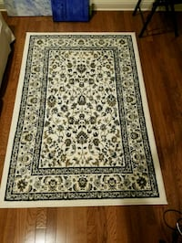 brown and black floral area rug New Haven, 06510