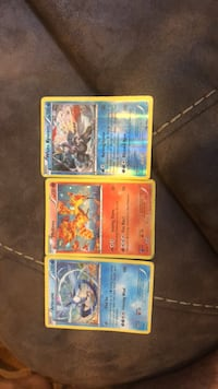 three Pokemon trading card collection New York, 11356
