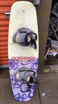 Yellow and purple budweiser wakeboard Upland, 91786