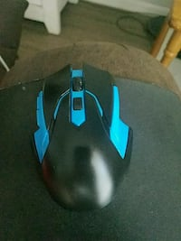black and blue corded gaming mouse Ocala, 34473