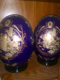 Victorian Limoges Porcelain Decorative cobalt egg  Las Vegas, 89110