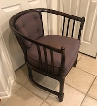 VINTAGE OCCASIONAL BARREL CHAIR