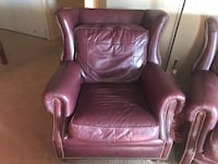 brown leather padded sofa chair Smithville, 37166