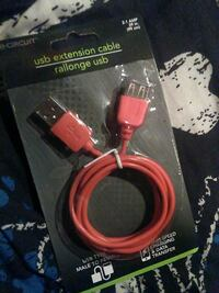 red USB extension cable pack Ottawa, K1J 8P3