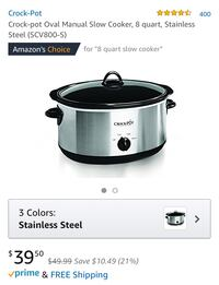 Crockpot in excellent condition San Mateo, 94403