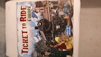Ticket to Ride Europe Bran New Coquitlam, V3B 6G4