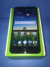 ZTE Blade X Max with box