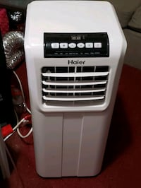 white and gray Haier portable AC unit Queens, 11413