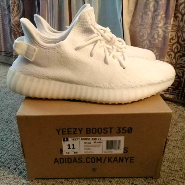 b2ae549e1 Used Adidas Yeezy 350 White Cream Size11 for sale in Atlanta - letgo
