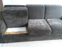 HomeReserve couch with storage APPLETON