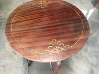 Round table mother pearl inlay 2265 mi