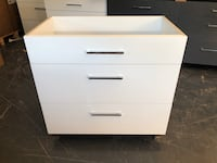"36"" Modern Single Sink Bathroom Vanity Cabinet in White Washington, 20007"