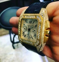 Gold an diamond rolex Washington