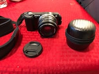 Black Sony Alpha Camera for $450. Lens are$60more(optional) New Rochelle, 10805