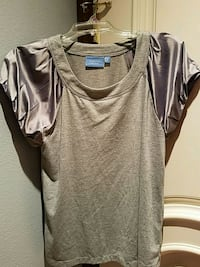 Vera Wang designer grey blouse Cypress, 90630