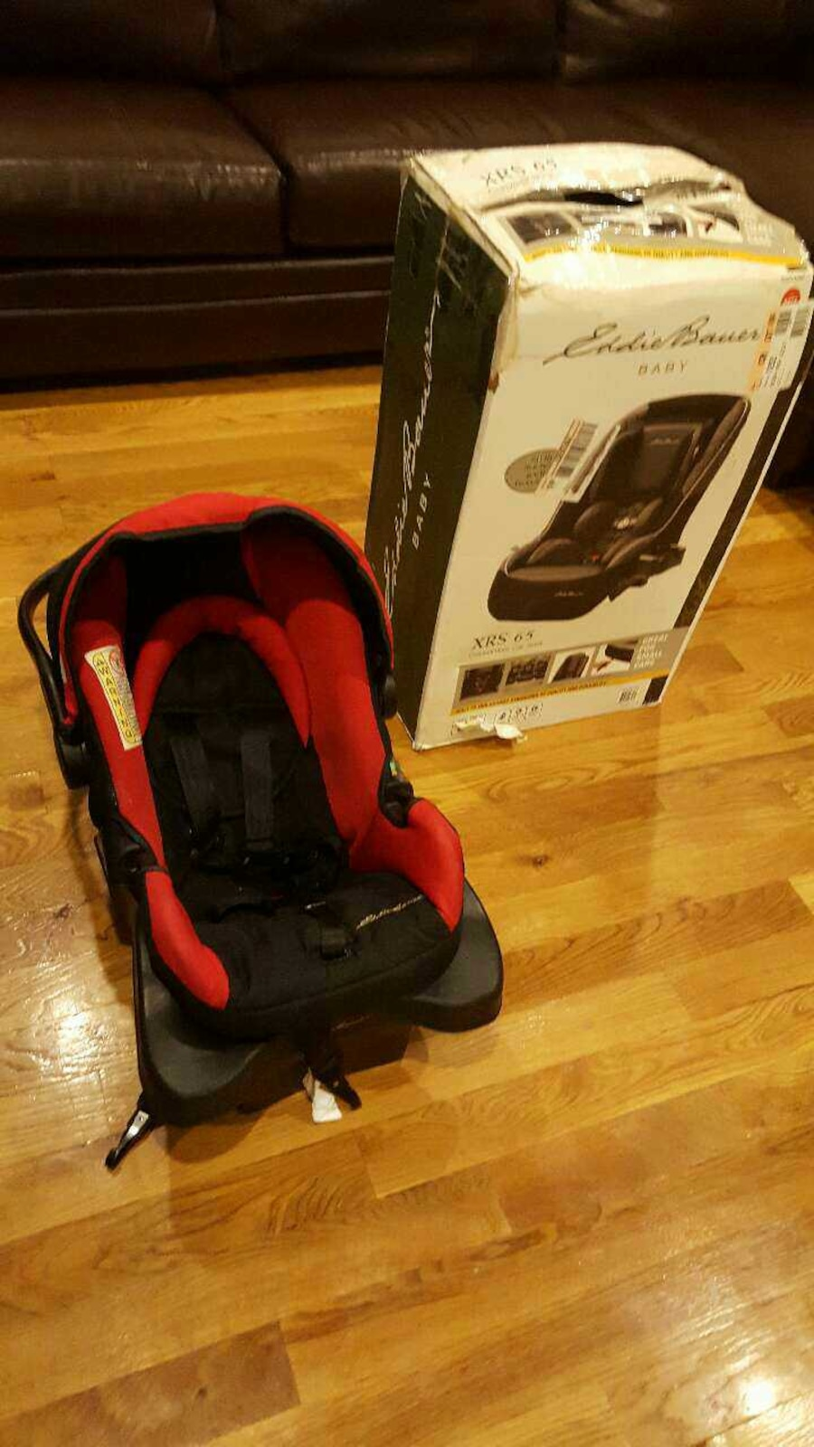 Eddie Bauer Stroller With Infant Car Seat And Base In New