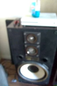 black and gray subwoofer speaker Las Vegas, 89147