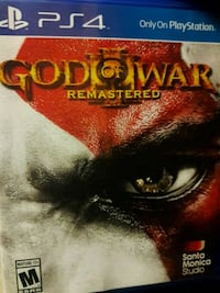 God of War PS3 game case Grand Junction, 81501