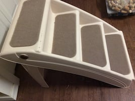 Pet stairs foldable. 15 obo