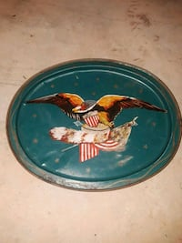 blue and red ceramic bowl Greer, 29651