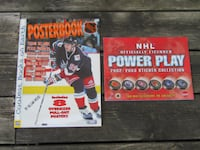 NHL Sticker Collection and Poster Book