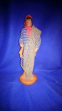From France clay fisherman signed