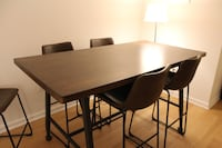 Counter Height Table with 4 chairs New York, 10028