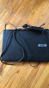 Black acer laptop with ac adapter Edmonton, T5B 3N8