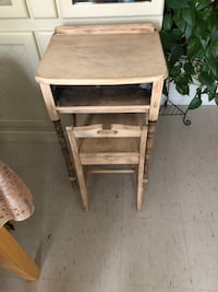Antique kids desk and chair