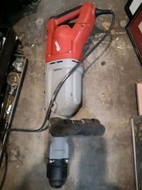 red and black millwaki corded homear drillr St. Catharines, L2P 2M1