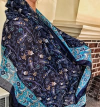 Turkish Hand Made Scarf- Pure Silk Pittsburgh