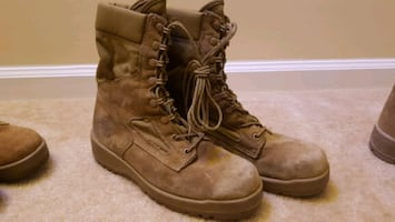 Marine Corps Boots - Belleville 390 Hot Weather Boots