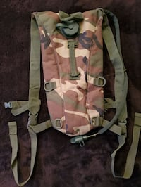 Brand New Camo Hydration Backpack