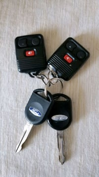 Original Ford Car Keys plus keyless entry FOBs  Toronto
