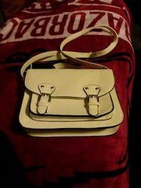 red and white leather handbag Springdale, 72764