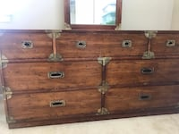 7 drawer dresser plus nightstand