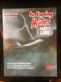 Party game, An Evening Of Murder. Toronto, M1T 2W8