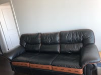 Genuine leather from Rawhide Furniture.