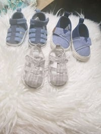 3 pairs boy shoes $15 for all Edmonton, T5A 5B7