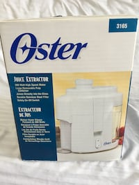 JUICE EXTRACTOR OSTER Mississauga, L5R 3K9