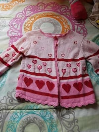 pink and red sweater Columbus, 31904