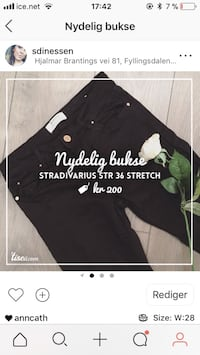 black denim bottoms skjermbilde 5941 km