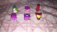 6 peace shopkins  542 km