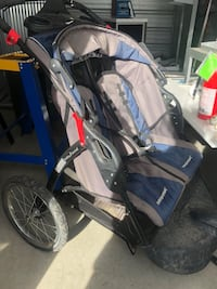 blue and gray jogging stroller St. Albert, T8N 5A7